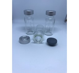 20ml Vial with Stopper and lid x 10 - great for Liquid cultures