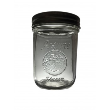 Aussie Mason LOGO 86mm (WIDE) Mouth 500ml Jars & Lids x 60  - - FREE SHIPPING to 90% of aus NO PO BOXES - SOLD OUT MORE SOON