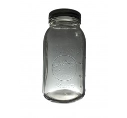 Aussie Mason 68mm Mouth (Regular) 950ml QUART Jars & Lids  x 12