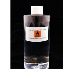 Isopropyl alcohol 99% 500ml - A must for any mushroom work to keep everything sterile