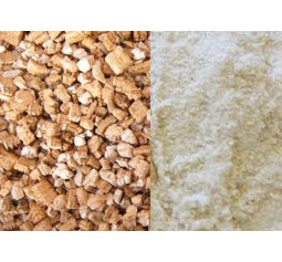 Small Refill Kit - Brown Rice flour 500G and 4L vermiculite