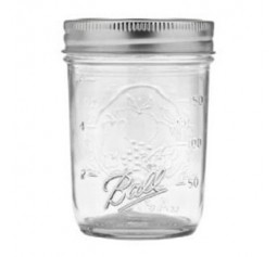 Ball Regular Mouth Half Pint jars x 6