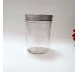 SOLD OUT - Aussie Mason PLAIN 86mm (WIDE) Mouth 500ml Jars & Lids x 12