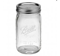 SOLD OUT - Ball Wide Mouth Quart Jars & Lids x 6